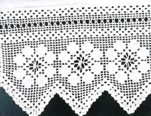 beyaz uç çiçekli dantel modeli