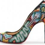 boncuk işli şık ayakkabı modelleri