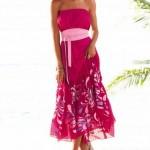 cıvıl cıvıl yazlık penye elbiseler