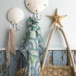 deniz ürünlerinden evlerde dekoratif askılar