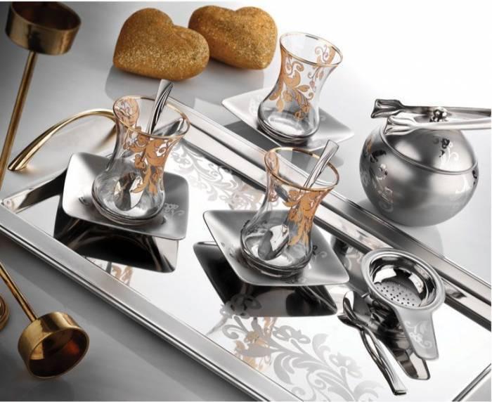 desenli 2012 hrika çay tepsi modelleri