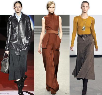 en güzel 2012 kışlık etek modelleri