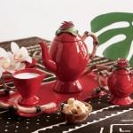 en güzel harika güral porselen kahvaltı takımı