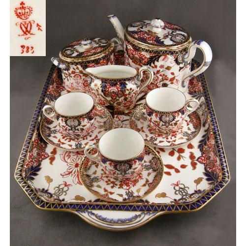 en güzel porselen çay tepsi modelleri