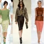 en güzel ve trend kışlık etek modası