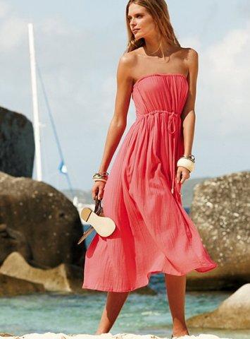 en güzel yazlık penye elbiseler