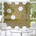 evlerde dekoratif duvar bölmeleri