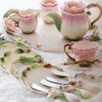 gül detay 2012 güral porselen kahvaltı seti
