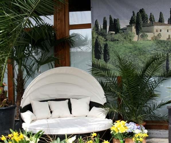 güneşlikli bahçe mobilya tasarımları