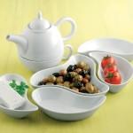 güral porselen puzzle kahvaltı seti