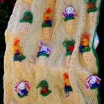 harika tasarım 2012 bebek battaniyeleri