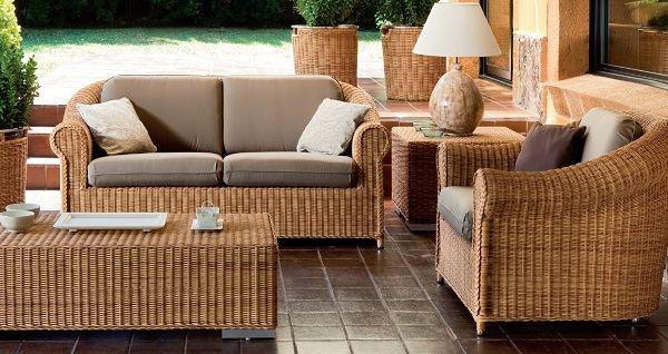 hasır bahçe mobilya takımı
