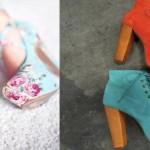 kalın tahta topuklu 2012 modası ayakkabılar