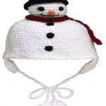 kardanadam modelinde bebek şapkası örneği