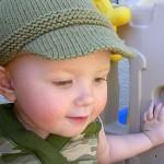 kasket tipi bebek şapka resimleri