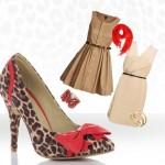 leopar desen ayakkabı kombin