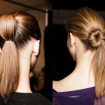 modelli at kuyruğu öğrenci saç örnekleri