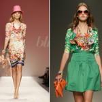 renkli yazlık giyim moda elbiseler