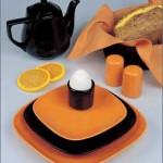 sade ve şık güral porselen kahvaltı seti