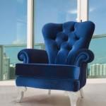 saks mavisi klasik berjer koltuk modeli