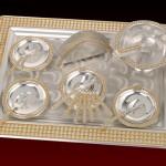 sarı kareli çay tepsi örnekleri