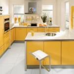 sarı koçtaş mutfak dolabı tasarımları