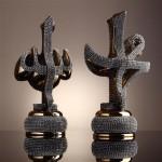 taşlı allah yazılı dekoratif evf eşyaları