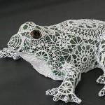 yaratıcı dantel süslü hayvan figürleri
