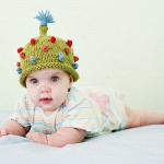 yeşil kırmzı mavi turuncu ponponlu bebek beresi modeli örneği