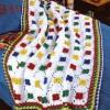 örgü bebek battaniyesi modeli