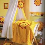 örgüden bebek odası süsleme örnekleri