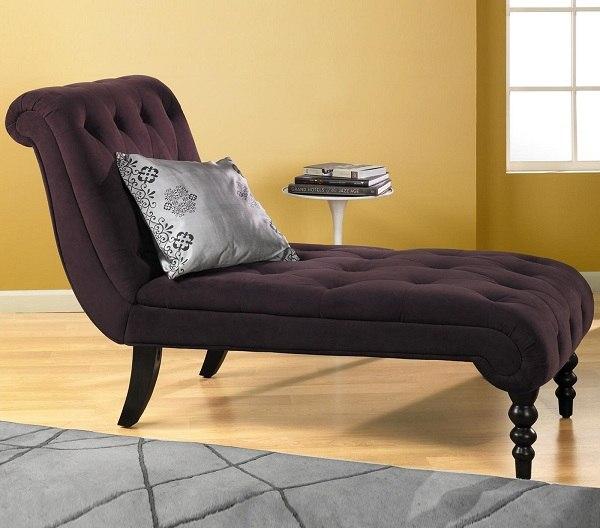 ahşap ayaklı süet uzanma koltuğu mobilyası