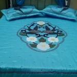 aplike en güzel yatak örtüsü örnekleri