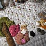 aplike yatak örtüleri için aplike örnekleri