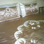 aplikeli en yeni yatak örtü modelleri
