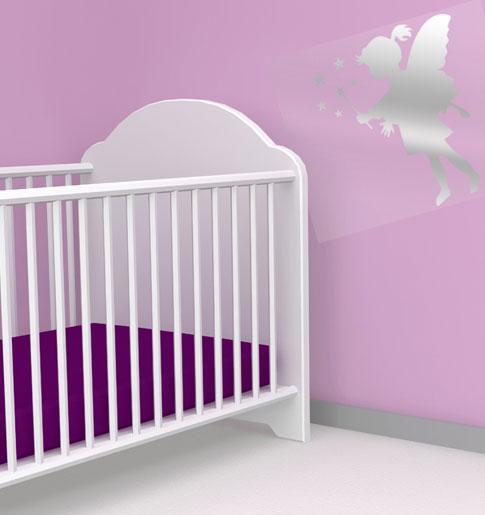 bebek desenli aynalı sticker