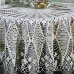 dantel dilim masa ve fiskos örtüleri