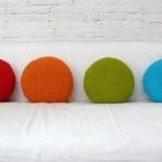 dekoratif örgüden yastık süslemeleri