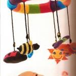 en güzel örgü süslemeli bebek dekorasyonu