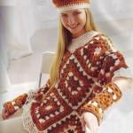 en güzel kışlık kalın panço modelleri