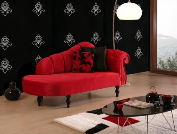 kırmızı josefin koltuk modeli