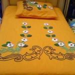 keçe aplikeli yatak örtüsü örnekleri