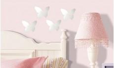 Duvar Stickerları ve Kırılmaz Dekoratif Ayna Modelleri