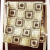 krem motifli örtü modeli