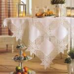kumaşlı masa örtüsü