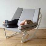 modern dizayn şık sallanan koltuklar