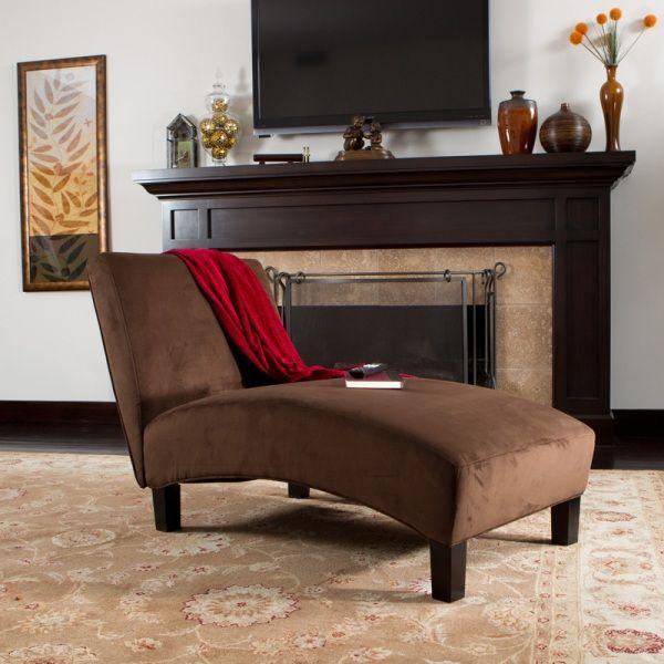 modern kahverengi dinlenme koltuğu