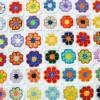renkli örtü motifleri