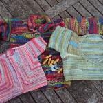 renkli harika bebek örgü örnekleri