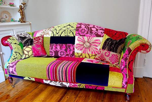 renkli modern kanepe